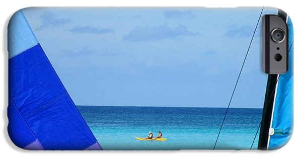 Half Moon Cay iPhone Cases - Half Moon Cay iPhone Case by Randall Weidner