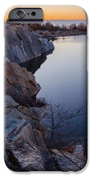 Reservoir iPhone Cases - Halibut Point in Rockport iPhone Case by Pat Lucas