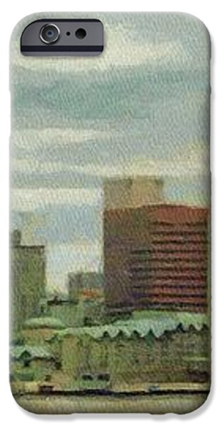 Halifax from the Harbour iPhone Case by Jeff Kolker