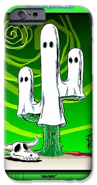 Prescott iPhone Cases - Halloween iPhone Case by Joe King