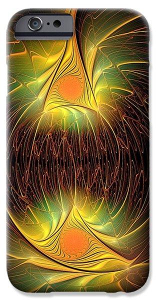 Recently Sold -  - Power iPhone Cases - Halloween Lights iPhone Case by Anastasiya Malakhova