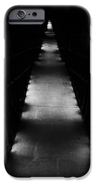Jordan iPhone Cases - Hallway to Nowhere iPhone Case by Christi Kraft