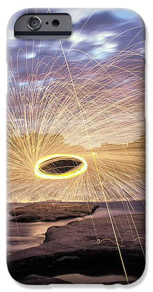 Halo On The American River iPhone Case by Lee Harland