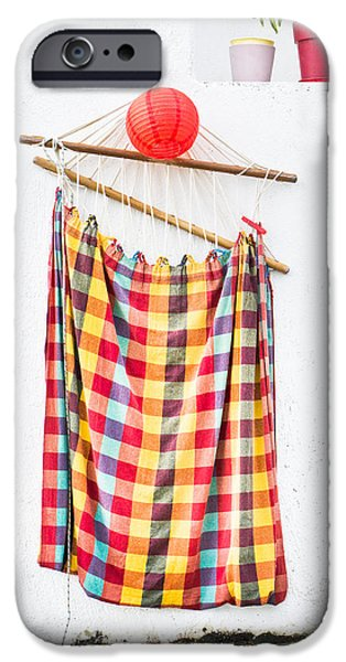 Netting iPhone Cases - Hammock iPhone Case by Tom Gowanlock