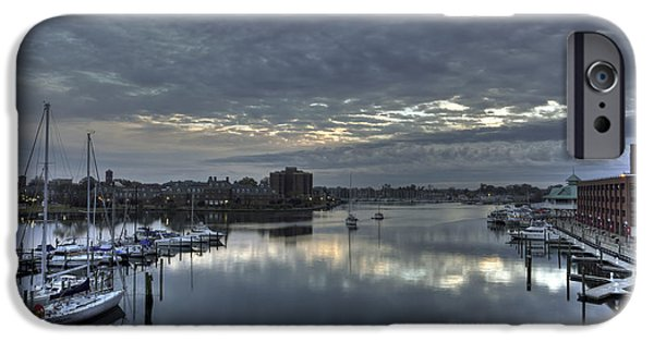 Booker T. iPhone Cases - Hampton Harbor iPhone Case by Jerry Gammon