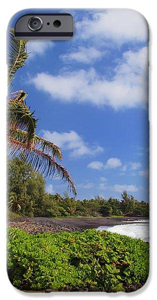 Hana Beach iPhone Case by Inge Johnsson