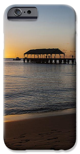 Hanalei Bay Sunset iPhone Case by Brian Harig