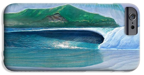 Ocean Reliefs iPhone Cases - Hanalei iPhone Case by Nathan Ledyard