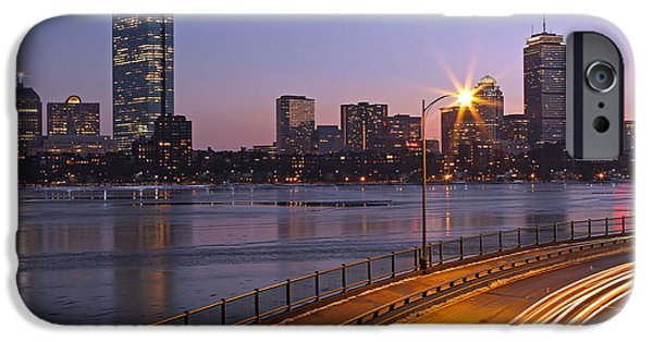 Charles River iPhone Cases - Hancock and Pru iPhone Case by Juergen Roth