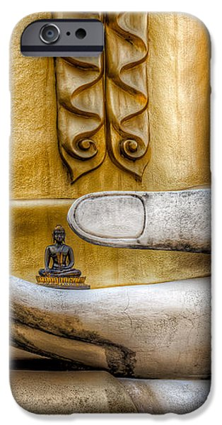 Hand of Buddha iPhone Case by Adrian Evans