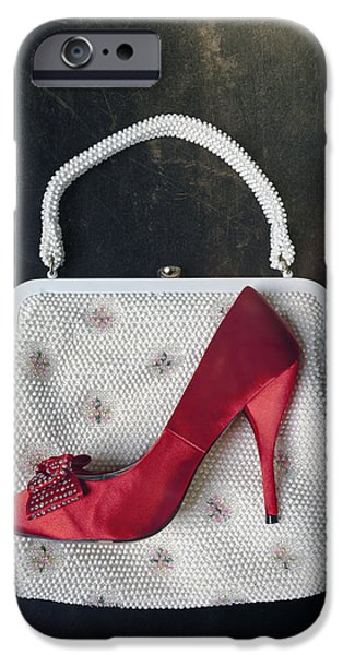 Posh iPhone Cases - Handbag With Stiletto iPhone Case by Joana Kruse