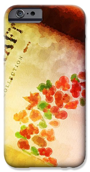 HandCraft Cabernet Sauvignon iPhone Case by Mary Machare