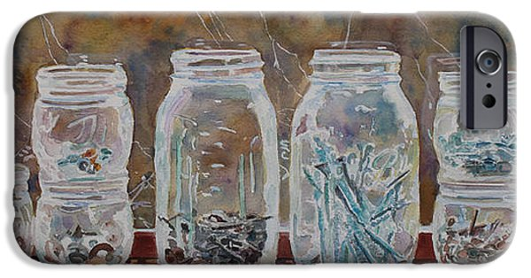 Diy iPhone Cases - Handymans Preserves iPhone Case by Jenny Armitage