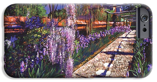 Pathway iPhone Cases - Hanging Garden iPhone Case by David Lloyd Glover