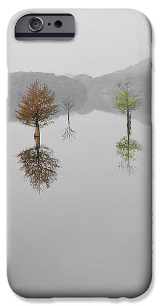 Hanging Garden iPhone Case by Debra and Dave Vanderlaan