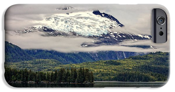 Prince William iPhone Cases - Hanging Glacier iPhone Case by Rick Berk
