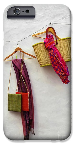 Woven iPhone Cases - Hanging Handicraft  iPhone Case by Carlos Caetano