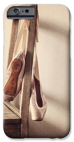 Ballet Dancers Photographs iPhone Cases - Hanging in the Moment iPhone Case by Amy Weiss