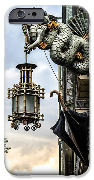 Built Structure iPhone Cases - Hanging Lantern iPhone Case by Sotiris Filippou