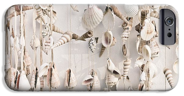 Accessories iPhone Cases - Hanging shells iPhone Case by Tom Gowanlock
