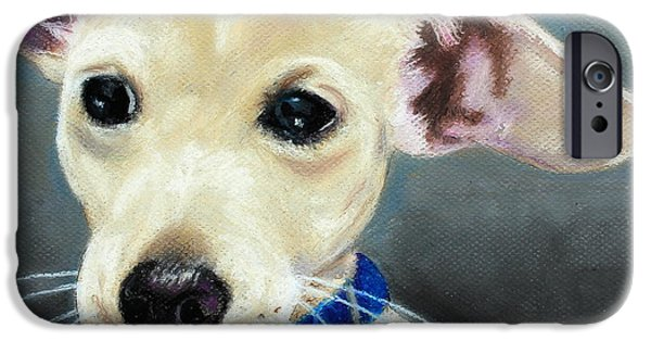 Puppies iPhone Cases - Hank iPhone Case by Jeanne Fischer