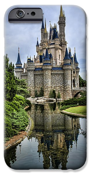 Magic Kingdom iPhone Cases - Happily Ever After iPhone Case by Heather Applegate