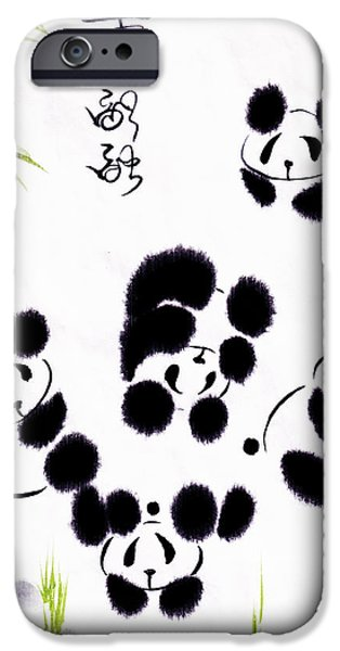 Oriental iPhone Cases - Happiness Is Getting Along iPhone Case by Oiyee  At Oystudio