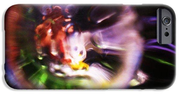 Design Glass Art iPhone Cases - Happlidity iPhone Case by S Patrick Hagen