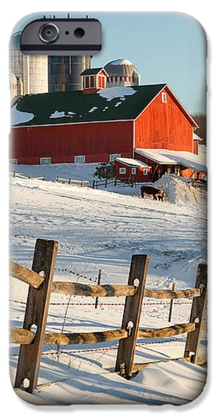 Happy Acres Farm iPhone Case by Bill  Wakeley