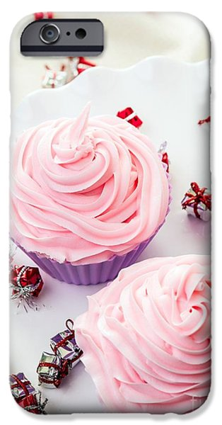 Frosting iPhone Cases - Happy Birthday Cupcakes iPhone Case by Edward Fielding