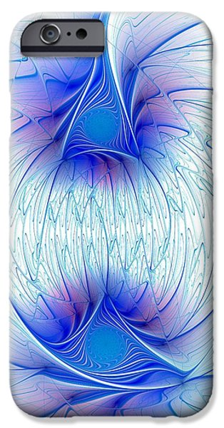 Recently Sold -  - Concept iPhone Cases - Happy Blue Lights iPhone Case by Anastasiya Malakhova