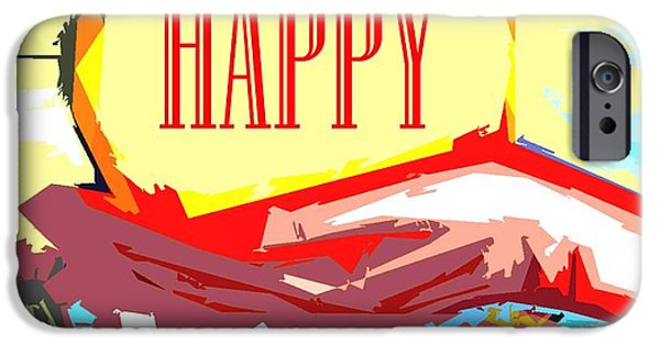 Miracle iPhone Cases - Happy Christmas 53 iPhone Case by Patrick J Murphy