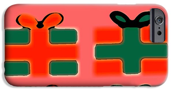 Miracle iPhone Cases - Happy Christmas 58 iPhone Case by Patrick J Murphy