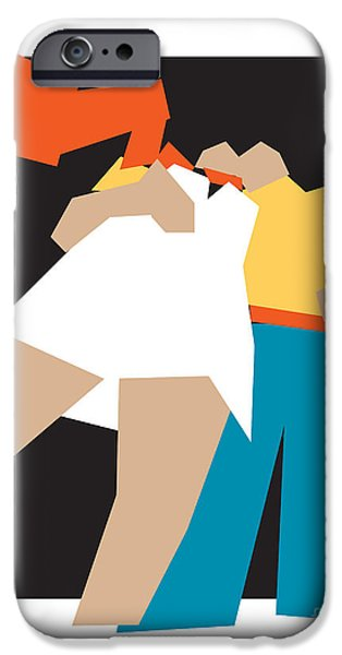 Women Together Digital iPhone Cases - Happy Future iPhone Case by Igor Kislev