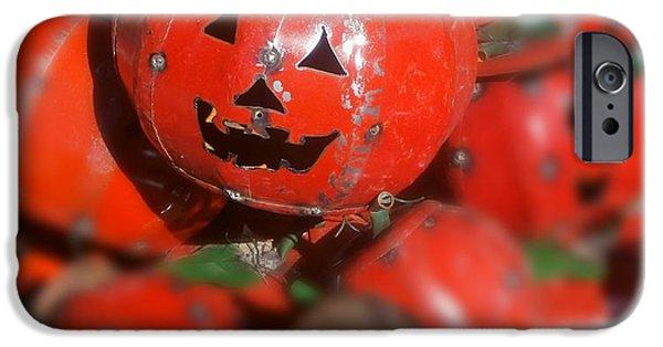 Sedona iPhone Cases - Happy Halloween iPhone Case by Karyn Robinson