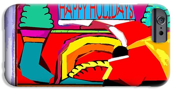 Miracle iPhone Cases - Happy Holidays 43 iPhone Case by Patrick J Murphy