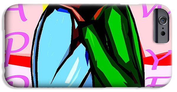 Miracle iPhone Cases - Happy New Year 53 iPhone Case by Patrick J Murphy