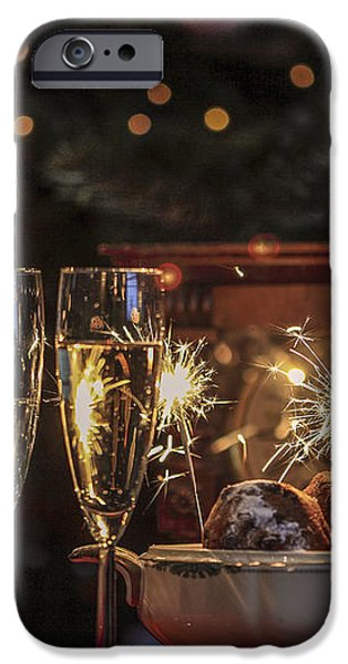 Happy new year iPhone Case by Patricia Hofmeester
