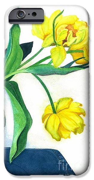 Happy Spring iPhone Case by Barbara Jewell