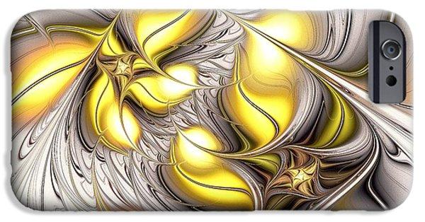 Movement iPhone Cases - Happy Yellow iPhone Case by Anastasiya Malakhova