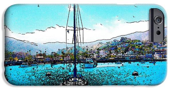 Design iPhone Cases - Harbor Days iPhone Case by Cheryl Young