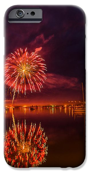 July iPhone Cases - Harbor Forth iPhone Case by David Johnson