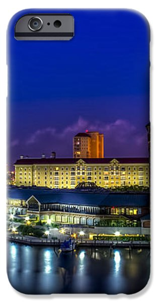 Harbor Island Nightlights iPhone Case by Marvin Spates