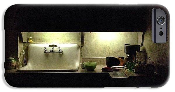 Harlem iPhone Cases - Harlem Sink iPhone Case by H James Hoff
