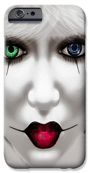 Harlequin iPhone Case by Bob Orsillo
