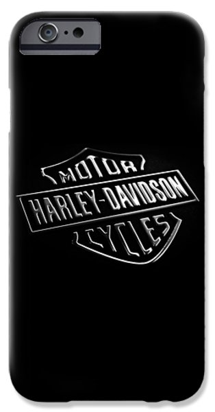 Iphone iPhone Cases - Harley-Davidson Motorcycles Phone Case iPhone Case by Mark Rogan