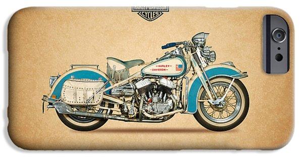 Glides iPhone Cases - Harley Davidson WLC 1942 iPhone Case by Mark Rogan