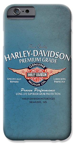 Phone iPhone Cases - Harley Premium Grade Phone Case iPhone Case by Mark Rogan