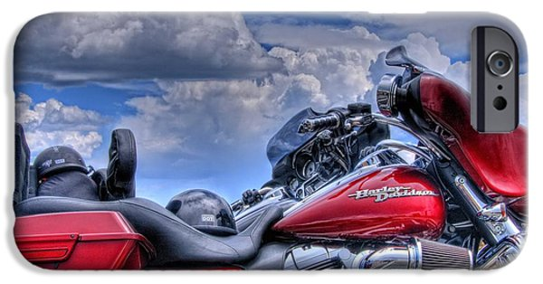 Recently Sold -  - Storm iPhone Cases - Harley iPhone Case by Ron White
