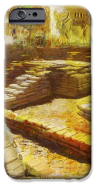 Harrappa UNESCO World Heritage Site iPhone Case by Catf